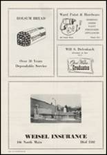 1956 Moscow High School Yearbook Page 124 & 125
