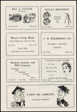 1956 Moscow High School Yearbook Page 130 & 131