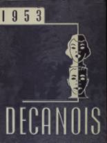 1953 Yearbook Decatur High School