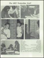 1982 Wheaton - Warrenville South High School Yearbook Page 150 & 151