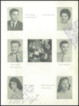 1959 Almont High School Yearbook Page 10 & 11
