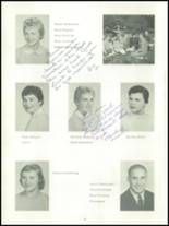 1959 Almont High School Yearbook Page 12 & 13