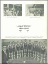 1959 Almont High School Yearbook Page 22 & 23