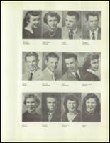 1954 Redmond High School Yearbook Page 36 & 37