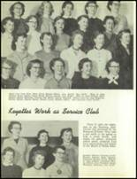 1954 Redmond High School Yearbook Page 86 & 87