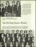 1954 Redmond High School Yearbook Page 88 & 89