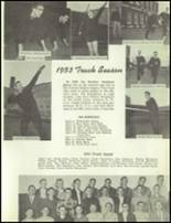 1954 Redmond High School Yearbook Page 112 & 113