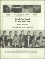 1954 Redmond High School Yearbook Page 126 & 127