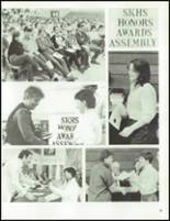 1986 South Kingstown High School Yearbook Page 86 & 87