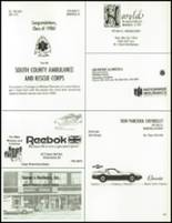 1986 South Kingstown High School Yearbook Page 184 & 185