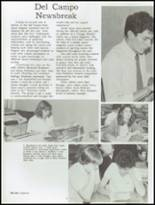 1983 Del Campo High School Yearbook Page 122 & 123