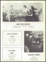 1956 Artesia High School Yearbook Page 110 & 111