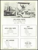 1956 Artesia High School Yearbook Page 114 & 115