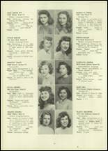 1946 Eastern High School Yearbook Page 28 & 29