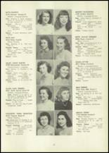 1946 Eastern High School Yearbook Page 32 & 33