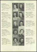 1946 Eastern High School Yearbook Page 34 & 35