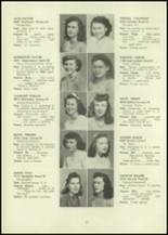 1946 Eastern High School Yearbook Page 36 & 37