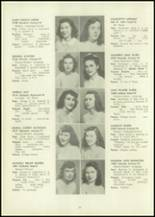 1946 Eastern High School Yearbook Page 38 & 39