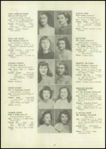 1946 Eastern High School Yearbook Page 42 & 43