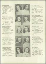 1946 Eastern High School Yearbook Page 46 & 47