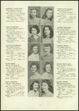 1946 Eastern High School Yearbook Page 48 & 49