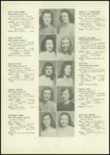 1946 Eastern High School Yearbook Page 50 & 51
