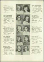 1946 Eastern High School Yearbook Page 52 & 53