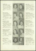 1946 Eastern High School Yearbook Page 54 & 55