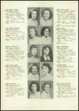 1946 Eastern High School Yearbook Page 56 & 57