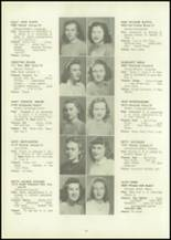 1946 Eastern High School Yearbook Page 58 & 59
