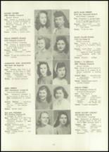 1946 Eastern High School Yearbook Page 62 & 63