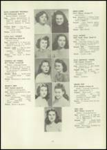1946 Eastern High School Yearbook Page 68 & 69