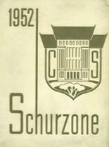 1952 Yearbook Schurz High School