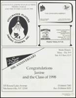 1998 Stillwater High School Yearbook Page 154 & 155