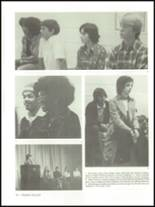 1975 Mann High School Yearbook Page 20 & 21