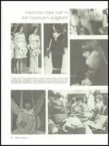 1975 Mann High School Yearbook Page 56 & 57
