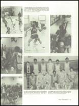 1975 Mann High School Yearbook Page 70 & 71