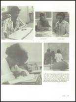 1975 Mann High School Yearbook Page 110 & 111