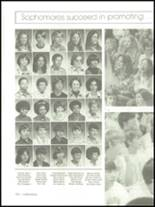 1975 Mann High School Yearbook Page 154 & 155