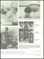 1975 Mann High School Yearbook Page 166 & 167