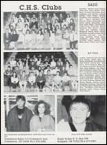 1989 Commerce High School Yearbook Page 54 & 55