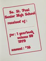 1979 South St. Paul High School Yearbook Page 4 & 5