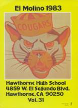 1983 Yearbook Hawthorne High School