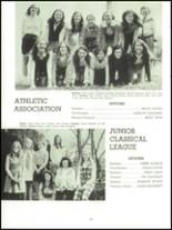 1971 Harpeth Hall School Yearbook Page 116 & 117