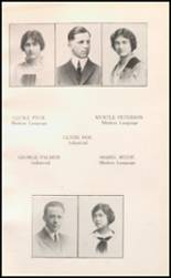 1914 North High School Yearbook Page 22 & 23