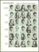 1973 Cedar City High School Yearbook Page 44 & 45
