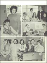 1973 Cedar City High School Yearbook Page 100 & 101