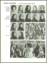 1973 Cedar City High School Yearbook Page 124 & 125
