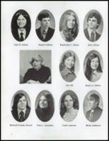1975 Pittsfield High School Yearbook Page 16 & 17