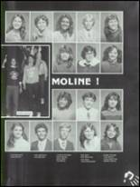 1983 Moline High School Yearbook Page 28 & 29
